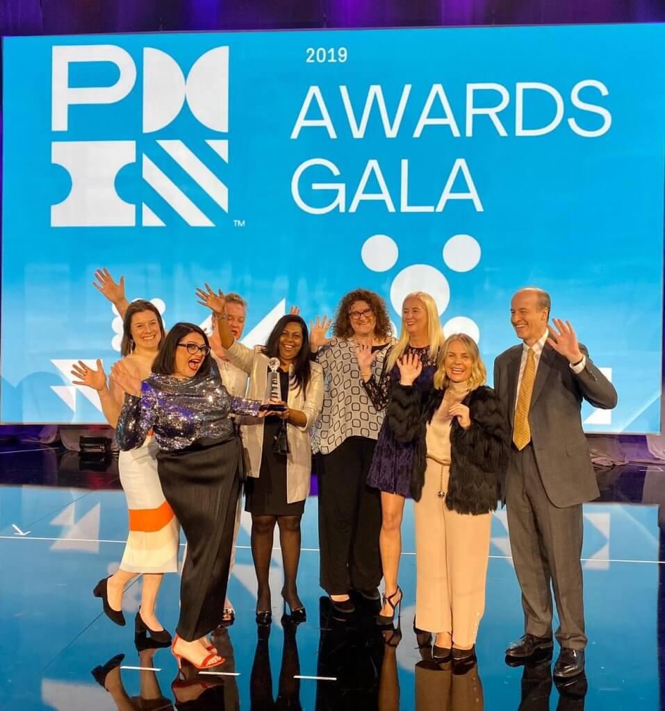 PMI Award Agile team