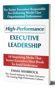 High Performance Executive Leadership Book