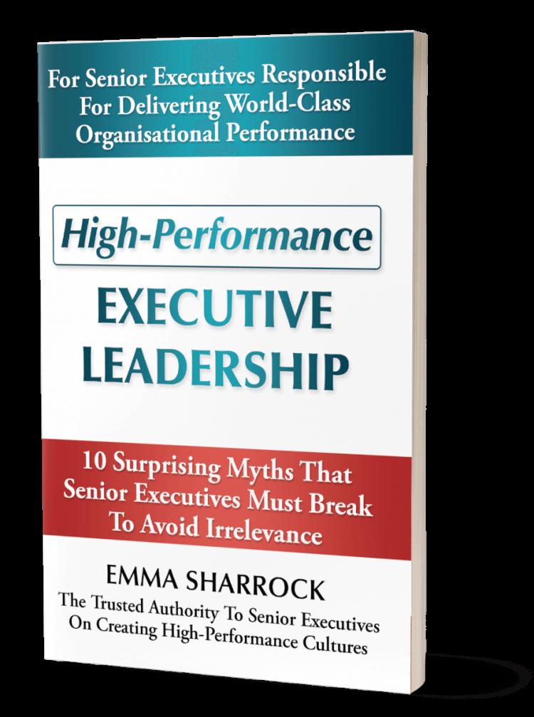 High-Performance Executive Leadership book
